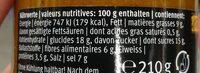 CURRY PASTE Base de sauce pour repas de curry - Nutrition facts - fr