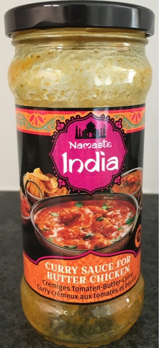 Curry sauce for butter chicken - Product