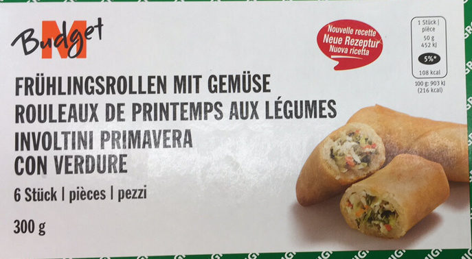 Rouleaux de Printemps aux Légumes - Produit - fr