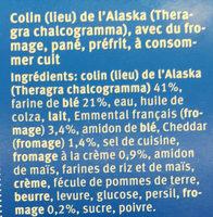 Poisson croustillant au fromage - Ingrediënten - fr