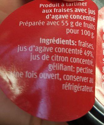 Les Intenses Fraise - Ingrédients - fr