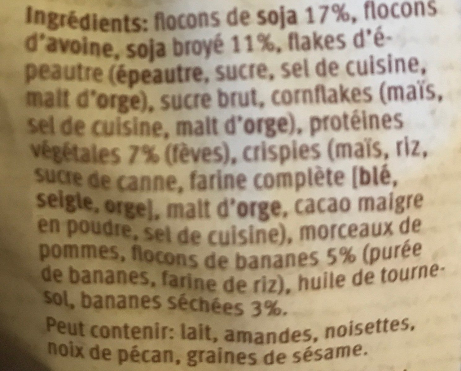 Farmer Plus Protein - Ingredients