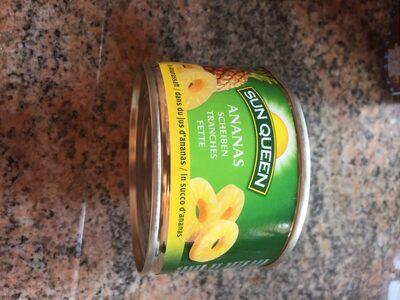 Tranches d'ananas - Produit - fr