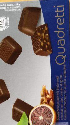 Chocolat noir avec orange sanguine - Product