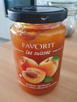 Confiture abricot - Produit - fr