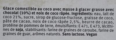 6 coco & chocolate - Ingredienti - fr