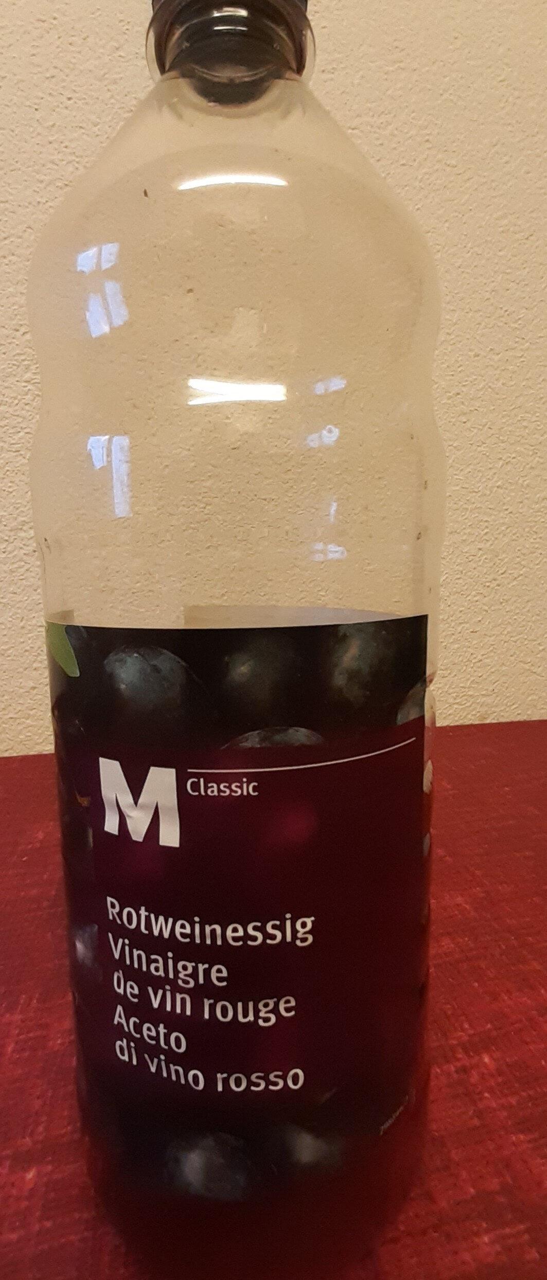 Rotweinessig M Classic - Produit