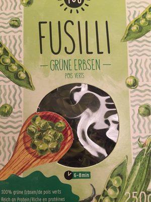 Fusilli Pois Verts - Product - fr