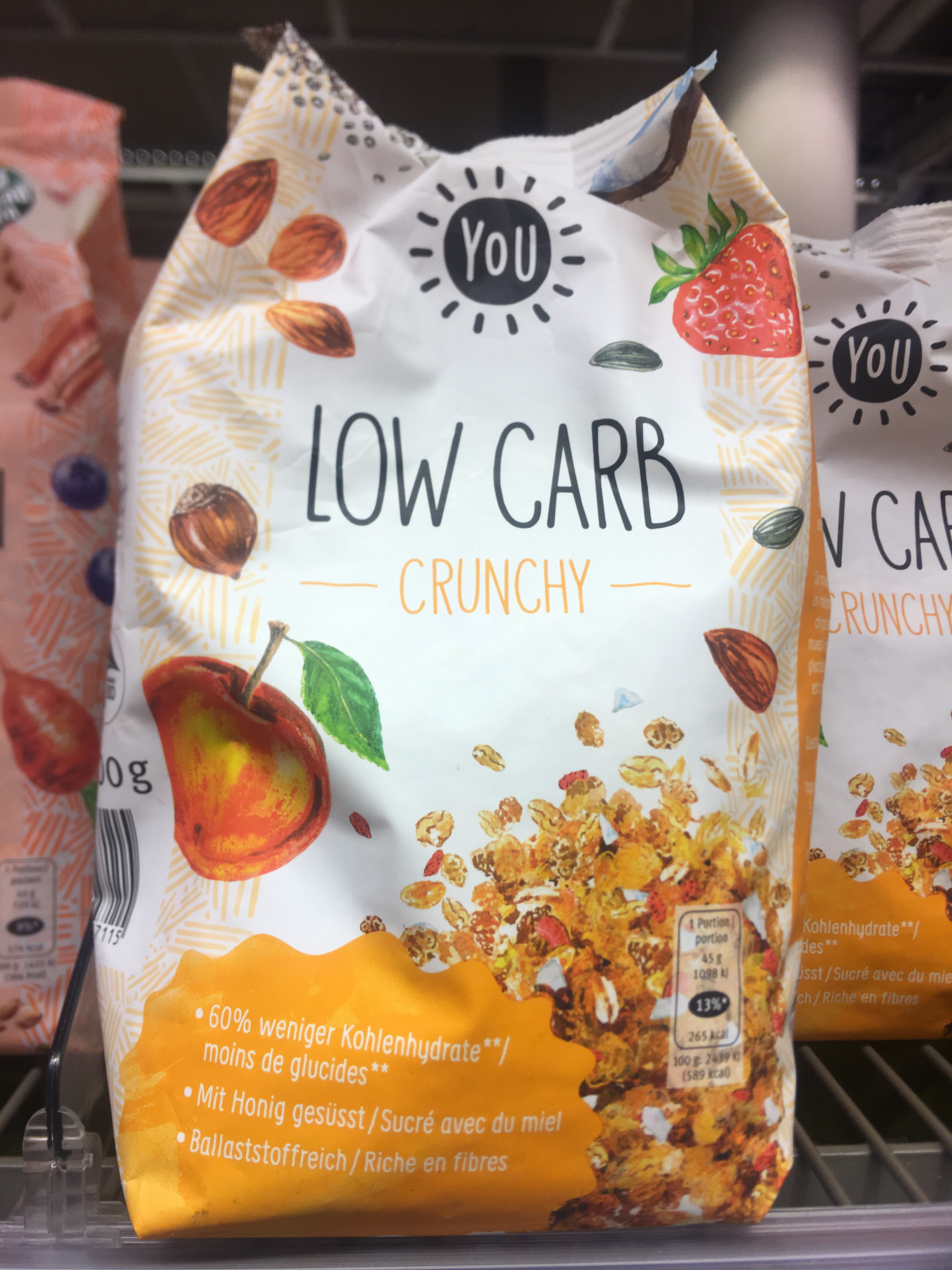 Lowcarb Crunchy - Product - de
