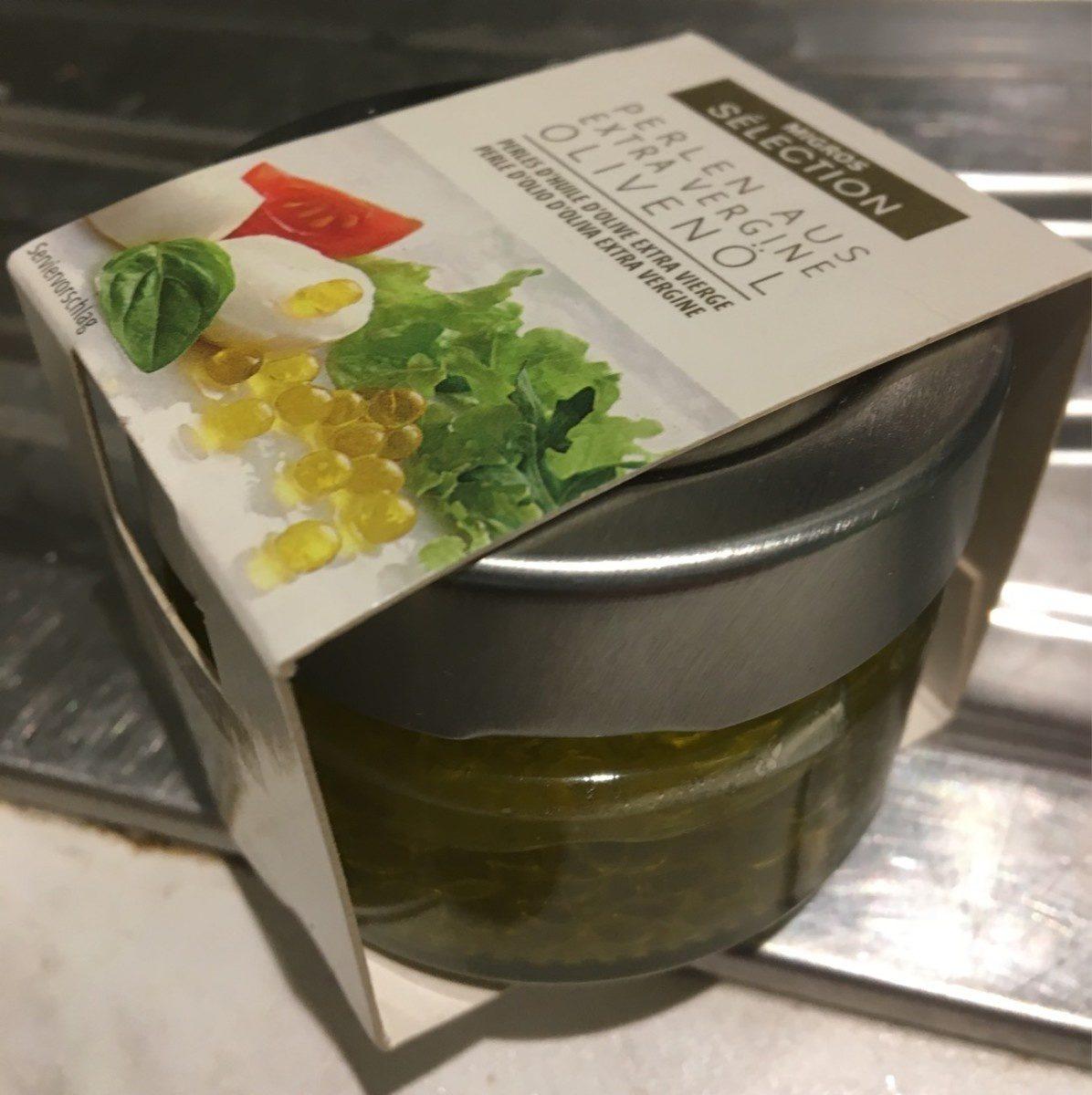 Perles d'huile d'olive extra vierge - Produit