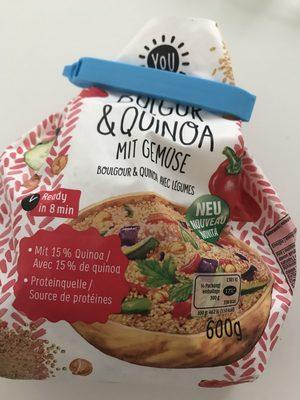 Bulgur & Quinoa mit gemüse - Product - fr