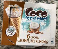 6 coco & caramelized almonds - Prodotto - fr