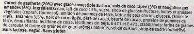 6 coco & caramelized almonds - Ingredienti - fr