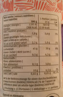 Power Crunchy - You - Nutrition facts