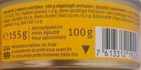 Poitrine de poulet - Informazioni nutrizionali - fr