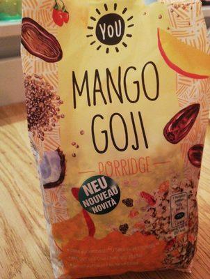 Mango Goji Porridge - Product - fr