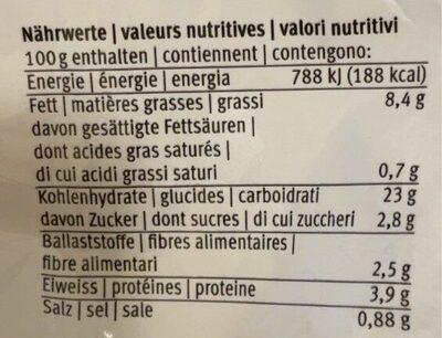 Trüffel Kroketten croquettes à la truffe crochette al tartufe - Informazioni nutrizionali - en