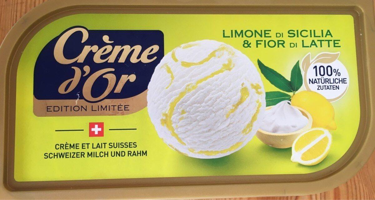 Crème d'Or Limone di Sicilia & Fior di Latte - Produit