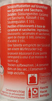 Sucorine - Ingredienti - de
