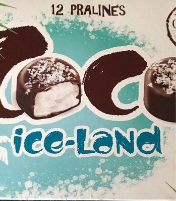 12 pralines coco ice-land - Prodotto - fr
