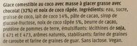 12 pralines coco ice-land - Ingredienti - fr