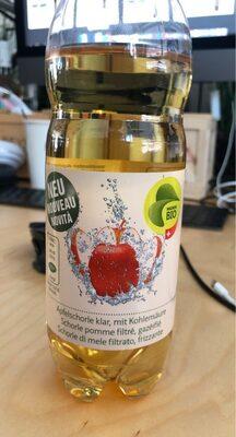 Apfelschorle klar, mit Kohlensäure - Product - fr