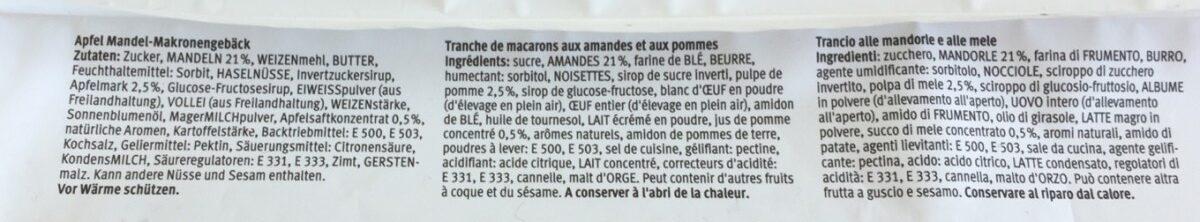 Petit gâteau aux pommes - Ingredienti - fr