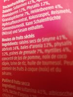 Super fruit balls - Ingredienti - fr