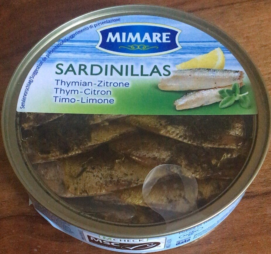 Sardinillas - Thym-Citron - Prodotto - fr