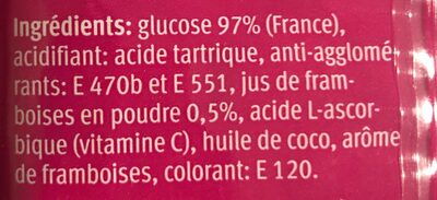 Sucre de raisin - Ingredienti - fr