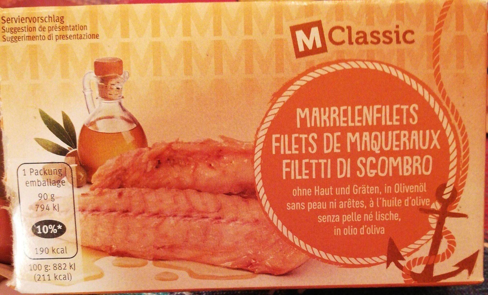 Filets de maqueraux - Prodotto - fr