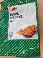 Paprika Wave Chips - Prodotto - fr