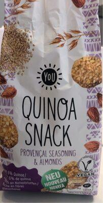Quinoa Snack provençal seasoning & almonds - Product - fr