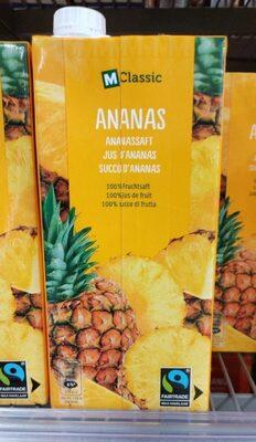 Ananas 100% jus de fruit - Prodotto - fr