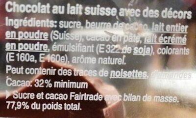 Lapin Harry - Ingredienti - fr