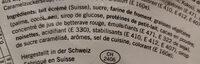 Cornet fraise - Ingredienti - fr