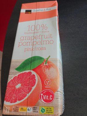 Grapefruit pample mousse pink/ rosa - Produit - fr