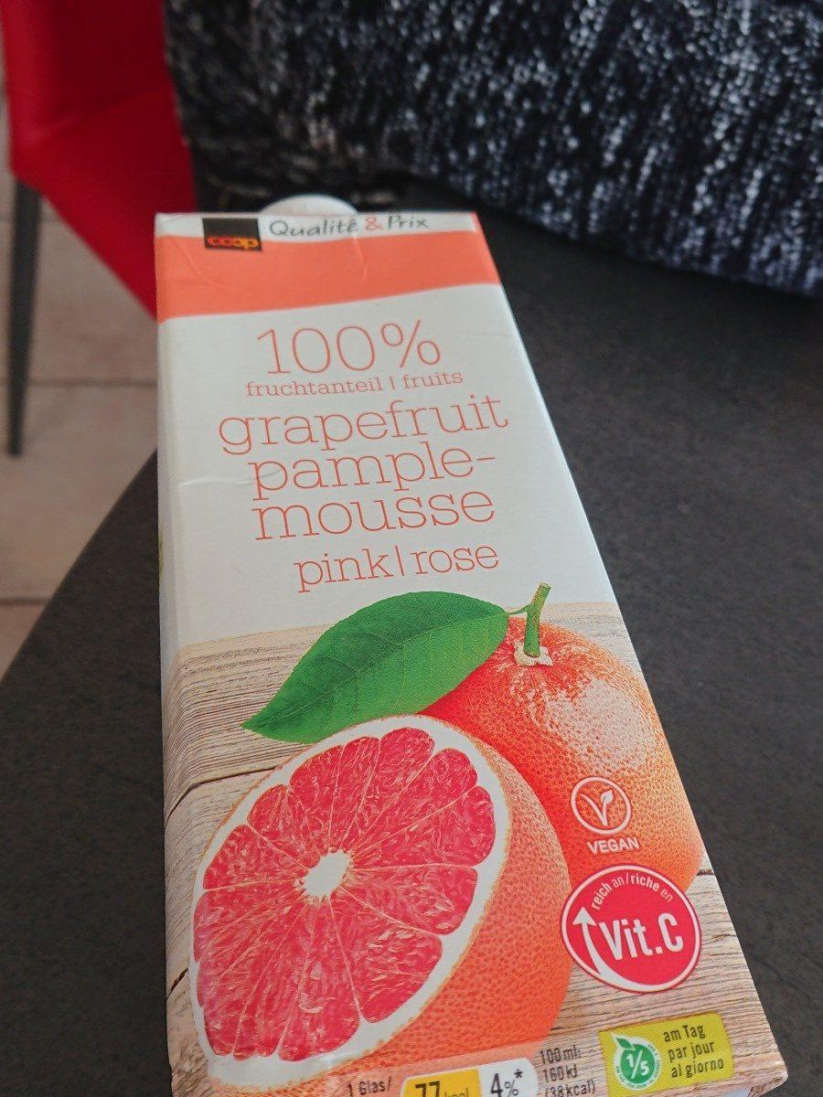 Grapefruit pample mousse pink/ rosa - Ingrediënten