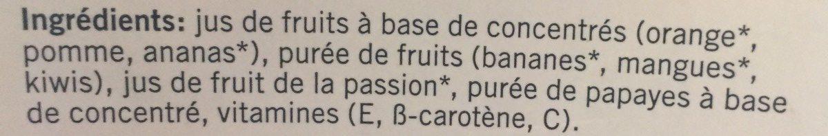 Multi Fruit - Ingredienti - fr