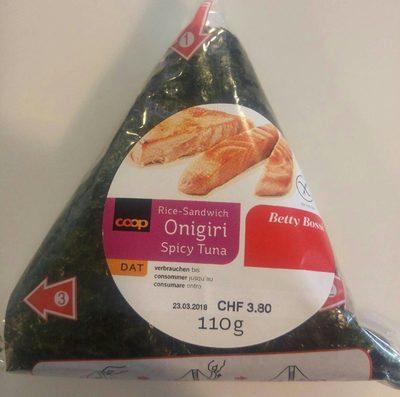 Onigiri spicy tuna - Product - fr