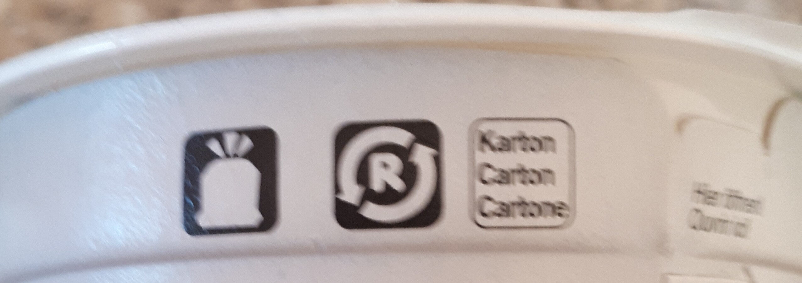 Jogurt : Abricot - Recyclinginstructies en / of verpakkingsinformatie - fr