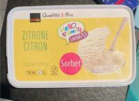 Citron sorbet - Prodotto - fr