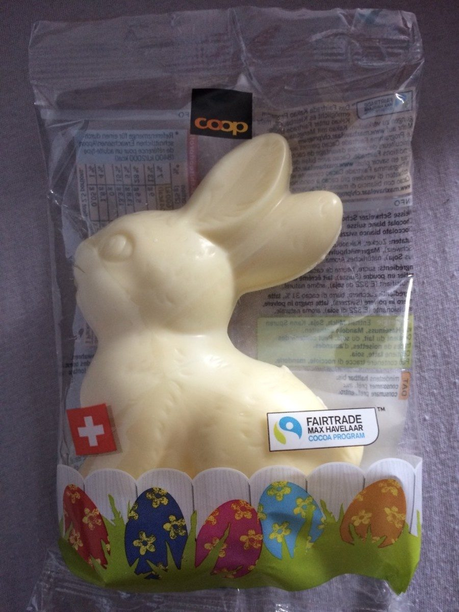 Lapin Chocolat Blanc - Product