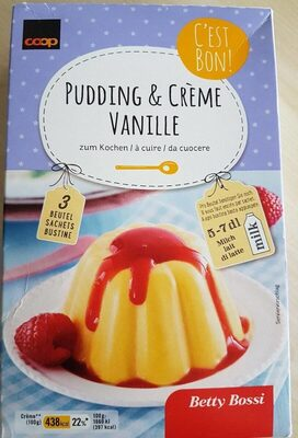 Pudding & crème vanille - Product