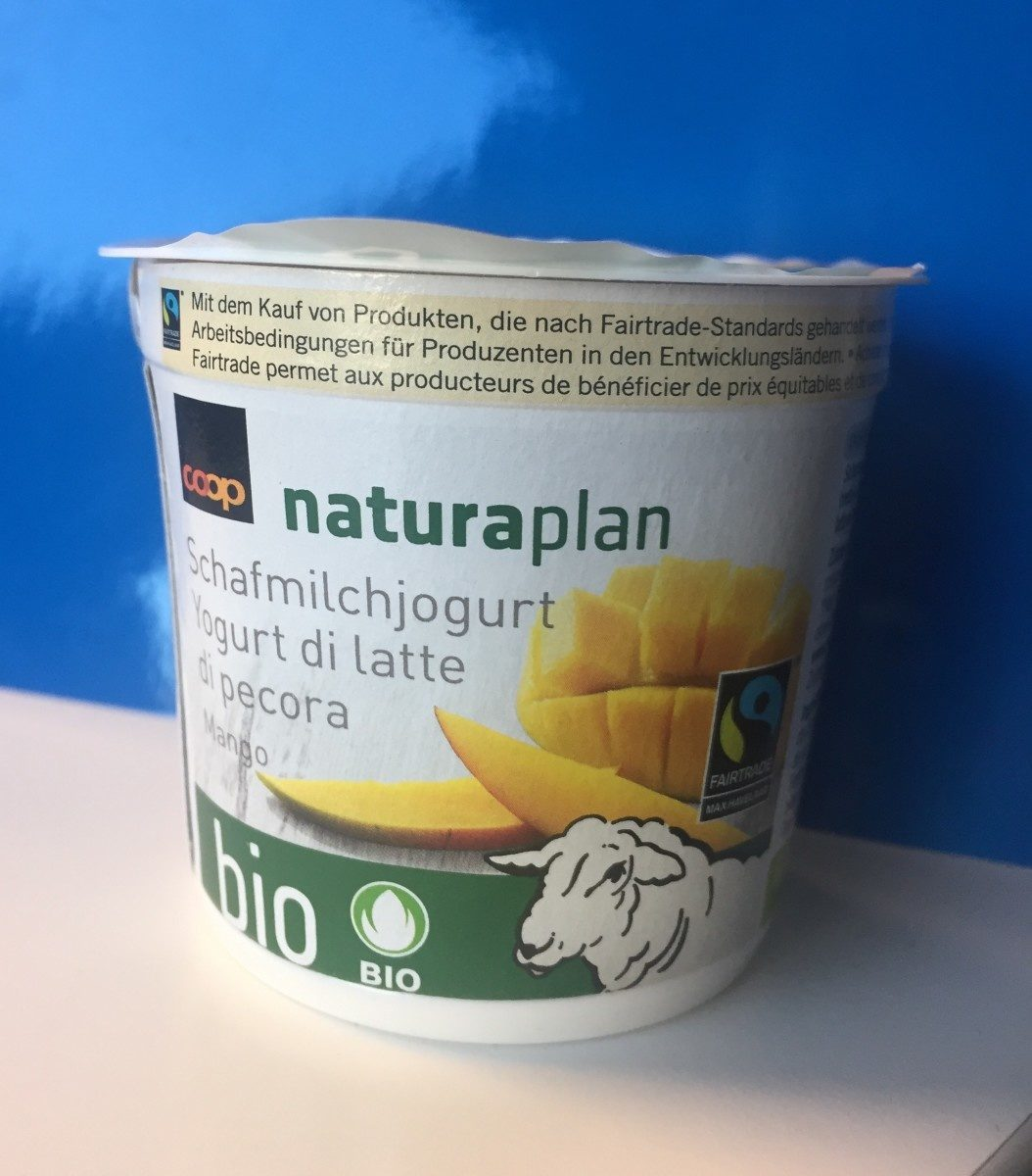 Yogourt au lait de bebris Mangue - Product - fr