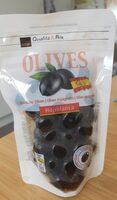 Olives noires denoyautes espagnoles - Produit - fr