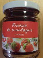 Confiture fraises de montagne - Product