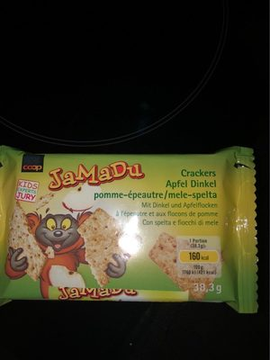 Crackers pomme épeautre - Product
