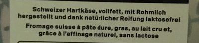 Appenzeller doux et aromatique en tranches - Ingredienti - fr