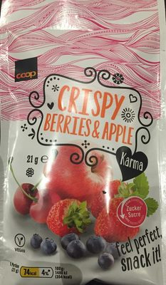 Crispy Berries & Apple - Product - fr